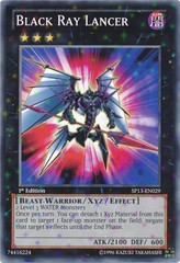 Black Ray Lancer - SP13-EN029 - Starfoil Rare - Unlimited Edition