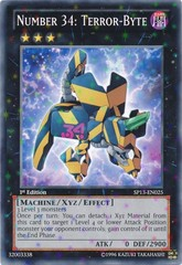 Number 34: Terror-Byte - SP13-EN025 - Starfoil Rare - Unlimited Edition