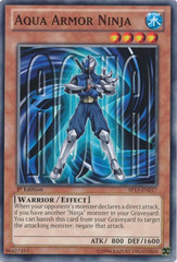 Aqua Armor Ninja - SP13-EN017 - Common - 1st Edition