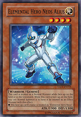 Elemental Hero Neos Alius - TAEV-EN018 - Super Rare - 1st Edition
