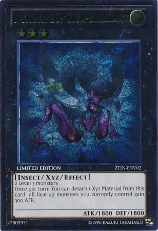 Number 20: Giga-Brilliant - ZTIN-ENV02 - Ultimate Rare - Limited Edition