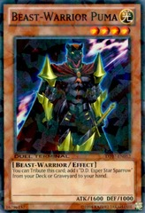 Beast-Warrior Puma - DT07-EN052 - Parallel Rare - Duel Terminal on Channel Fireball