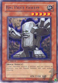 Big Piece Golem - TDGS-EN008 - Rare - 1st Edition