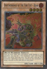 Brotherhood of the Fire Fist - Bear - CBLZ-EN024 - Ultimate Rare - Unlimited Edition