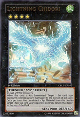 Lightning Chidori - CBLZ-EN052 - Ultra Rare - Unlimited Edition on Channel Fireball