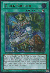 Quick Booster - CBLZ-EN065 - Ultimate Rare - Unlimited Edition
