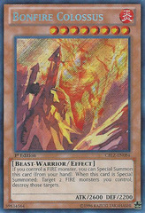 Bonfire Colossus - CBLZ-EN084 - Secret Rare - Unlimited Edition on Channel Fireball