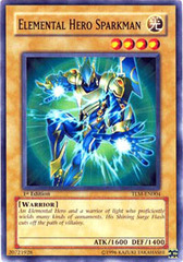 Elemental Hero Sparkman - TLM-EN004 - Common - 1st Edition