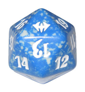Magic Spindown Die - Dark Ascension Blue