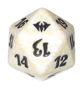 Magic Spindown Die - Dark Ascension White