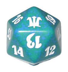 Magic Spindown Die - Innistrad - Green