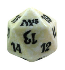 Magic Spindown Die - M13 Magic 2013 White