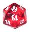 Magic Spindown Die - Premium Deck Series: Fire & Lightning