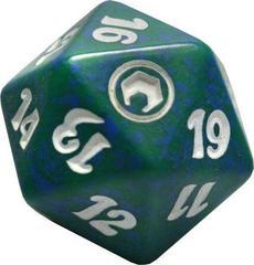 Magic Spindown Die - Scars of Mirrodin Green