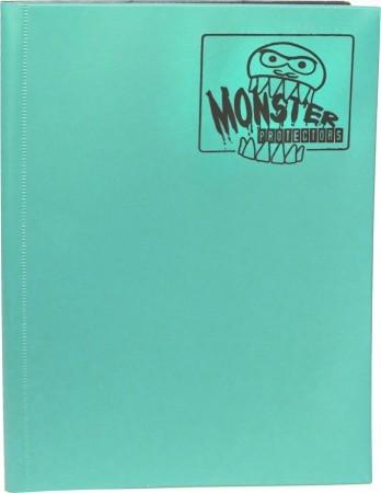 Monster Protectors 9 Pocket Matte Teal Binder
