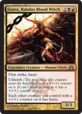 Exava, Rakdos Blood Witch - Foil