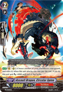 Assault Dragon, Circular Spino - PR/0041EN - PR on Channel Fireball