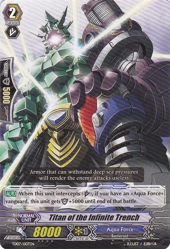 Titan of the Infinite Trench - TD07/007EN - TD