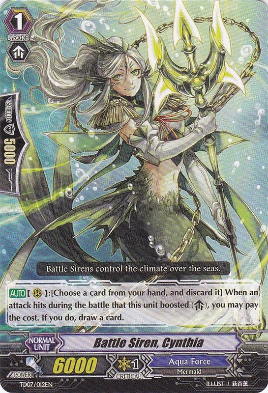 Battle Siren, Cynthia - TD07/012EN - TD