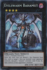 Evilswarm Bahamut - HA07-EN024 - Secret Rare - 1st Edition