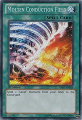 Molten Conduction Field - HA07-EN025 - Secret Rare - 1st Edition