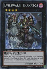 Evilswarm Thanatos - HA07-EN063 - Secret Rare - 1st Edition