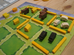 Agricola: Yellow player pieces