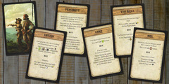 Robinson Crusoe: Adventure on the Cursed Island - Trait Cards