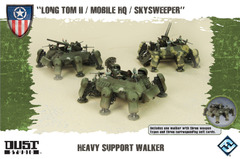 Dust Tactics: Allies Heavy Support Walker -