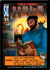Sentinels of the Multiverse: The Eternal Haka Promo Card
