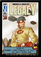 Sentinels of the Multiverse: America's Greatest Legacy Promo Card