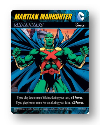 DC Comics Deck-Building Game: Martian Manhunter promo