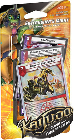 Clash of the Duel Masters Competitive Deck - Skycrusher's Might