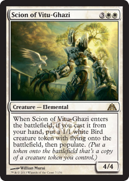 Scion of Vitu-Ghazi - Foil
