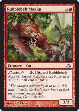 Rubblebelt Maaka - Foil
