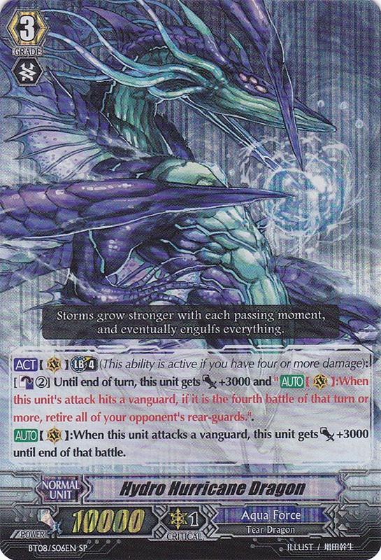Hydro Hurricane Dragon - BT08/S06EN - SP