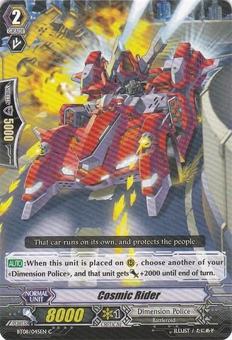 Cosmic Rider - BT08/045EN - C