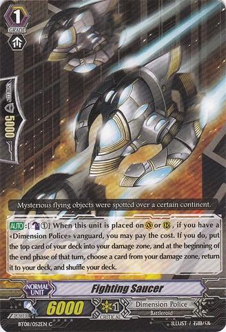 Fighting Saucer - BT08/052EN - C
