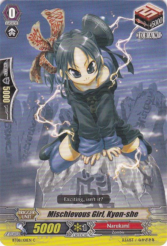 Mischievous Girl, Kyon-she - BT08/101EN - C