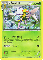 Beedrill - 3/116 - Rare on Channel Fireball