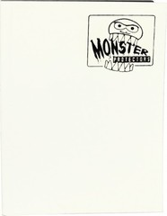 4-Pocket Monster Binder - White