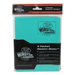Monster Protectors 4-Pocket Binder - Matte Teal