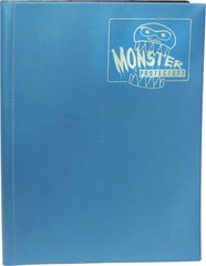 4-Pocket Monster Binder - Aqua Blue