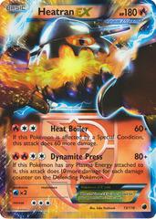 Heatran-EX - 13/116 - Rare Holo EX