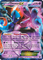 Deoxys-EX - 53/116 - Rare Holo EX on Channel Fireball