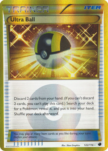 Ultra Ball - 122/116 - Secret Rare