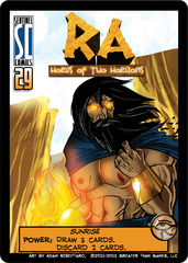 Sentinels of the Multiverse: Ra - Horus of Two Horizons Promo Card