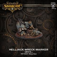 Cryx Helljack Wreck Marker