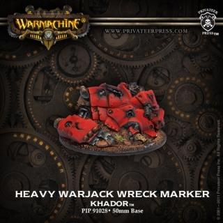 Khador Heavy Warjack Wreck Marker