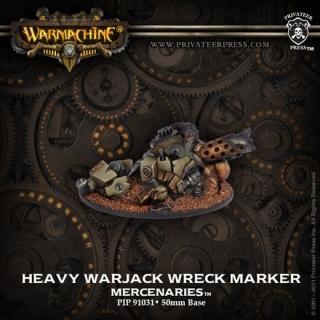 Mercenary Heavy Warjack Wreck Marker